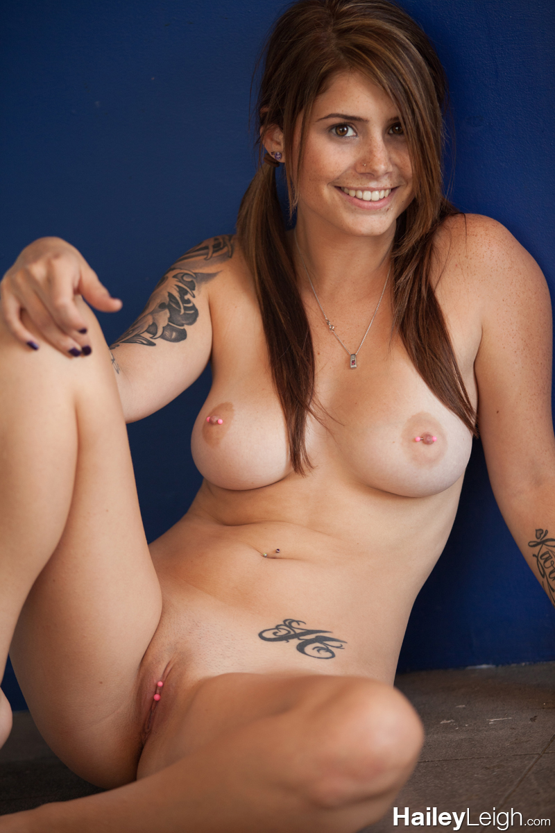 pierced pussy shaved