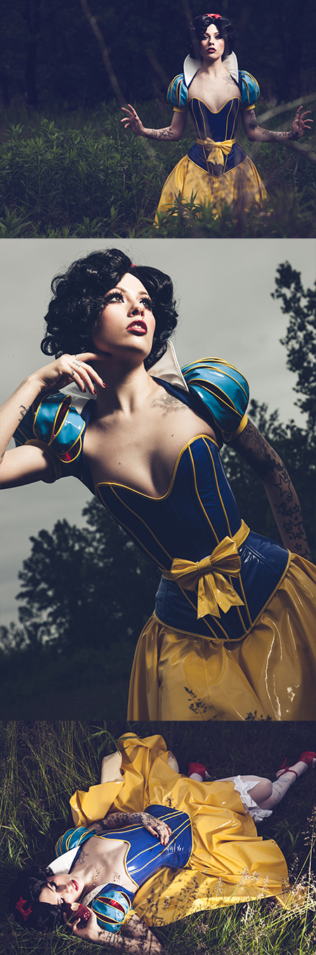 Vera Baby as Snow White