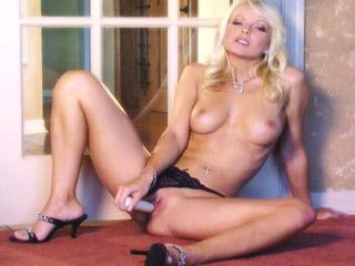 Jana Cova playing with vibrator | Twistys