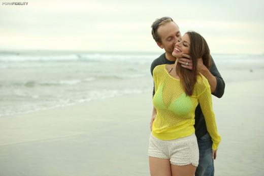 Brooklyn Chase at beach   Porn Fidelity