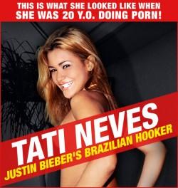 Tati Neves aka Emanuele, Justin Bieber's Brazilian hooker