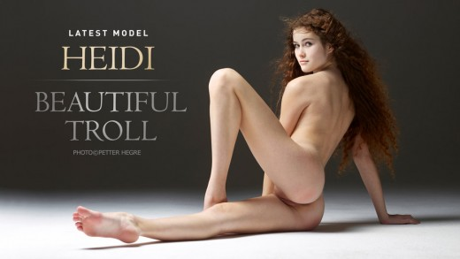 curle haired Heidi nude | Hegre Art