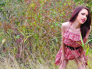 Betty Y from Flirt4Free in nature