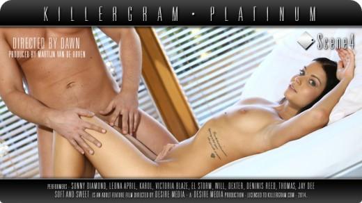 naked Victoria Blaze | Killergram Platinum