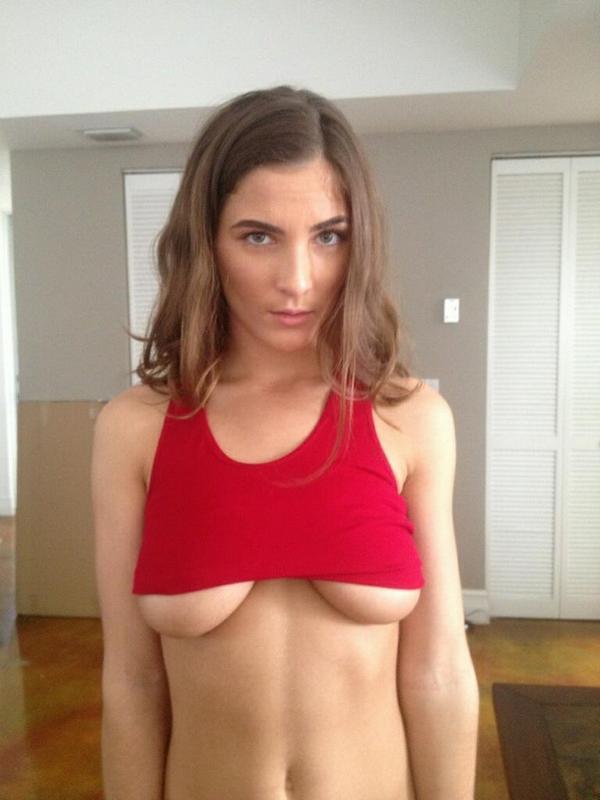 Molly Jane underboobs