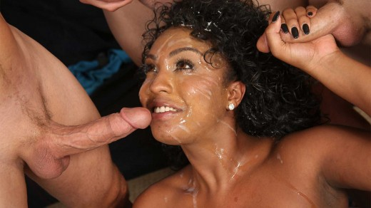 Layton Benton interracial bukkake | We Fuck Black Girls
