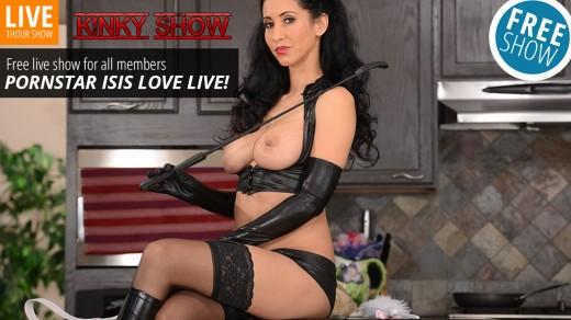 Isis Love live show Kinky Show | Webcams