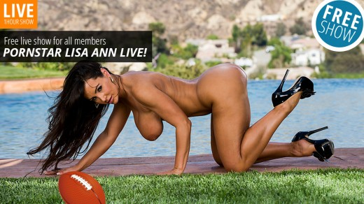 Lisa Ann live show Lisa Ann's Fantasy | Webcams
