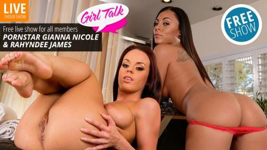Rahyndee James & Gianna Nicole live show Girl Talk | Webcams