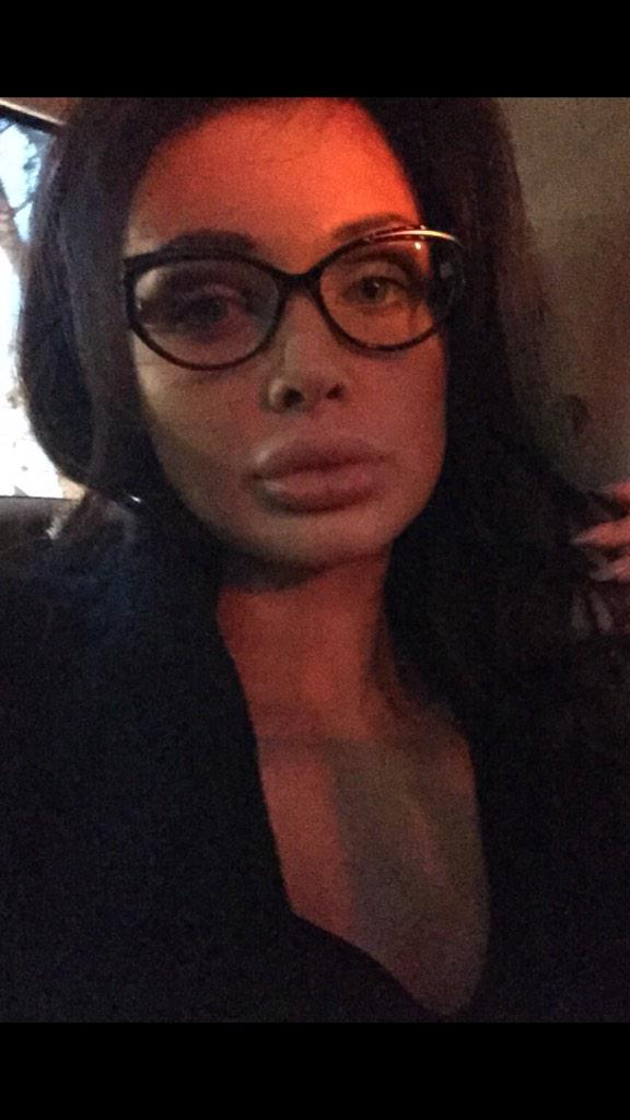 Aletta Ocean with glasses