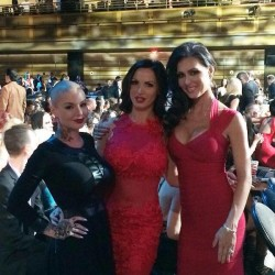 Christy Mack, Nikki Benz & Jessica Jaymes in sexy evening dresses