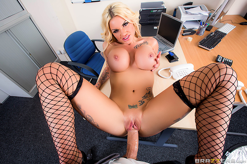 POV sex with Candy Sexton | Big Tits At Work