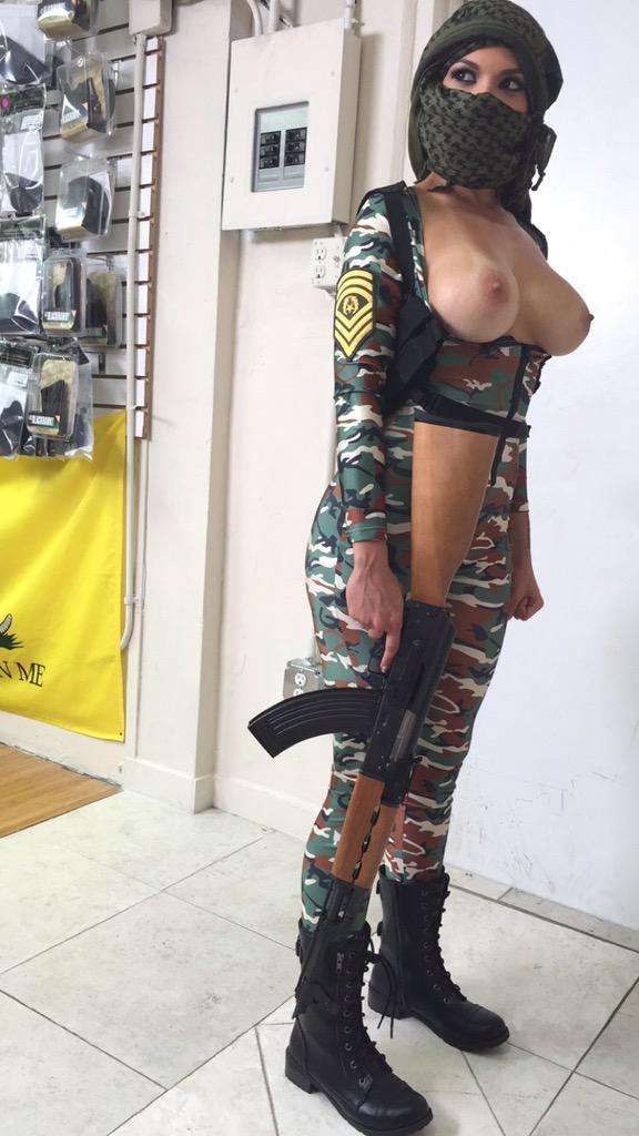 topless terrorist Kylie Rogue | Money Talks