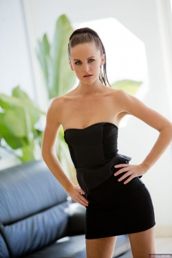Jaden Taylors in little black dress | Digital Desire