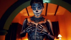 MFC KickAz with Dia De Los Muertos body paint