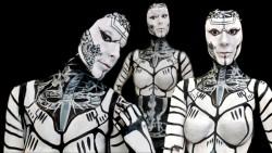 MFC KickAz with self body painted Kicka-Robot series 1.0.
