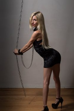 chained Piper Perri