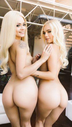 nude blonde lesbiansAlex Grey & Elsa Jean