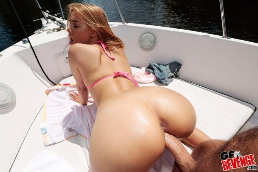 Kendall Kross outdoor doggystyle sex | GF Revenge