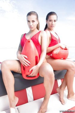 twin lifeguards Silvia Dellai & Eveline Dellai | Private