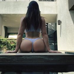 Jenna J Ross in thong