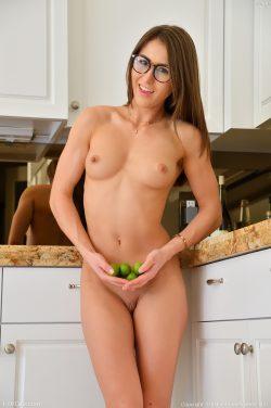 nude Paige Owens wearing glasses   FTVgirls