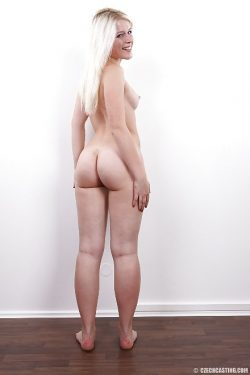 Sandra (0690) aka Sweet Cat shows her nude ass | CzechCasting