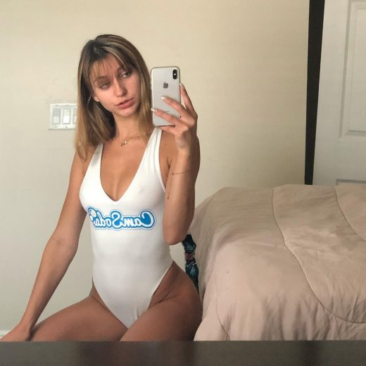 selfie by Ana Rose in Camsoda swimsuit