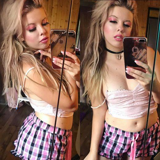 Markéta Galuszková selfie