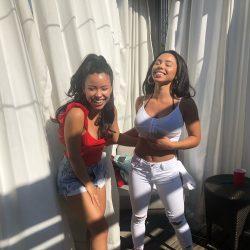 latinasisters Cierra Ramirez & Savannah Ramirez