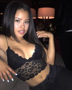 sexy latina celebrity Cierra Ramirez in lace top