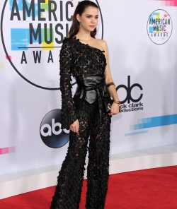 Maia Mitchell on red carpet at American Music Awards