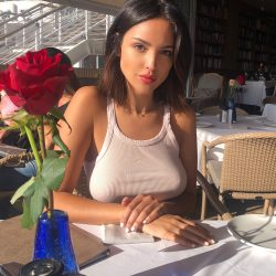 dinner with Eiza Gonzalez