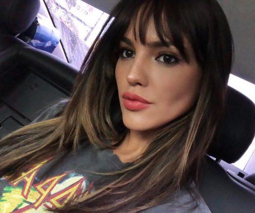 Eiza Gonzalez Reyna with bangs