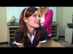 Porno Jesus After School Special Pt 1: Emily Austin spanking Jenna J. Ross in Girls Kick Ass XXX