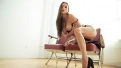 Celeste Star strips out of her lingerie in nuTABU video nu seduction