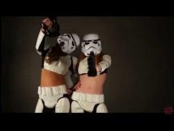cosplay video of Austin White & Niki Skyler as Star Wars Super Storm Troopers