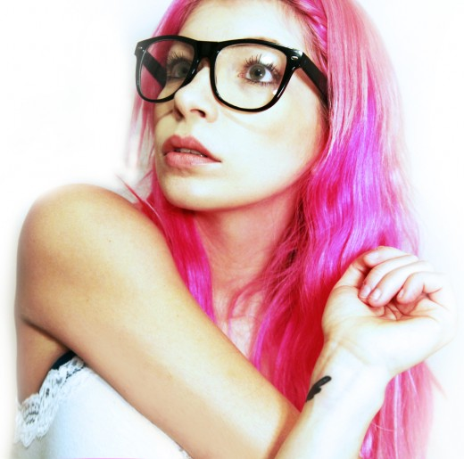 MFC MeaFox wearing glasses