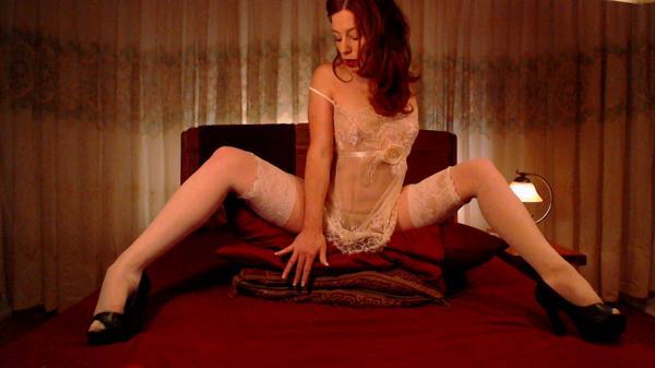 2013 Sex Awards Webcam Girl of the Year LittleRedBunny Ophelia in stockings