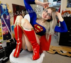 Super Woman cosplay by MFC XFuukaX