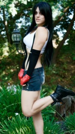 MFC MissMolly as Tifa Lockhart from Final Fantasy VII