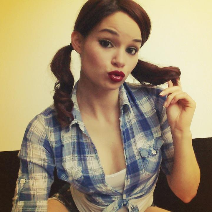 JennaJRoss from MyFreeCams with pigtails