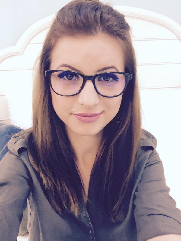 PurexInnocence Amalia wearing glasses