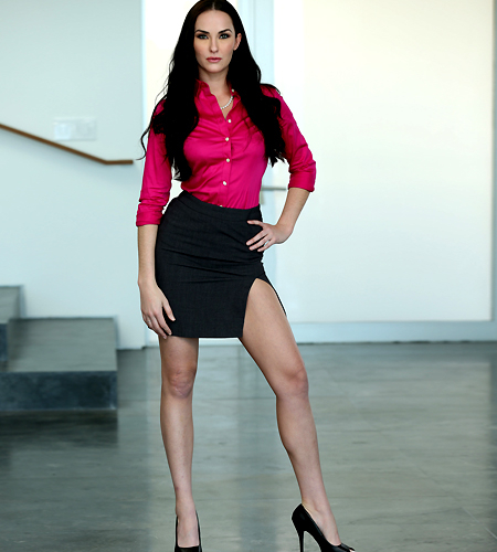 Bianca Breeze sexy in skirt | Reality Kings