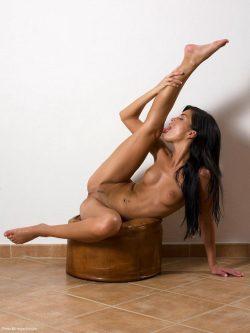 flexible & naked Mirta aka Nella   Hegre Art