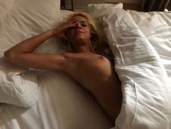 nude Elsa Jean waking up