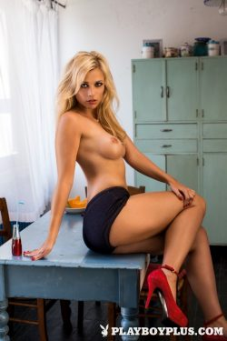 Playboy Germany Playmate of the Month November 2013 Victoria Paschold topless