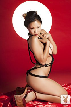 Playboy Playmate of the Month Hiromi Oshima naked