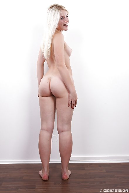 Sandra (0690) aka Sweet Cat shows her nude ass | CzechCasting