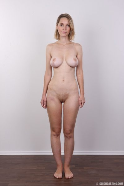 Tereza 7922 poses naked   CzechCasting
